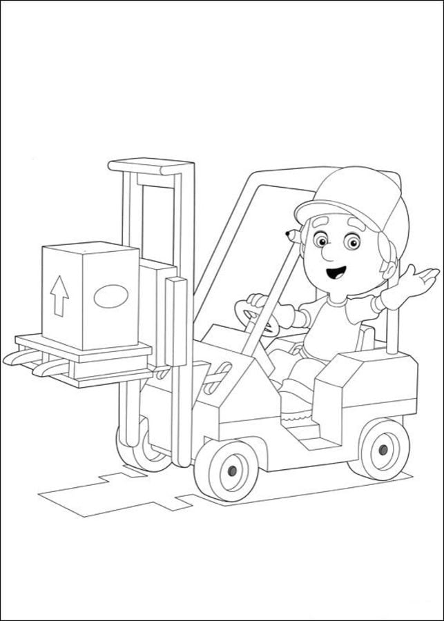 Coloring Pages Coloring Pages Handy Manny Printable For Kids Adults Free