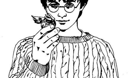Ausmalbilder: Harry Potter und der Stein der Weisen