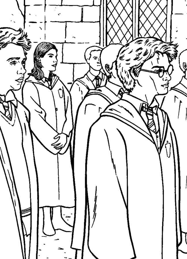 Ausmalbilder Ausmalbilder Harry Potter Und Der Gefangene