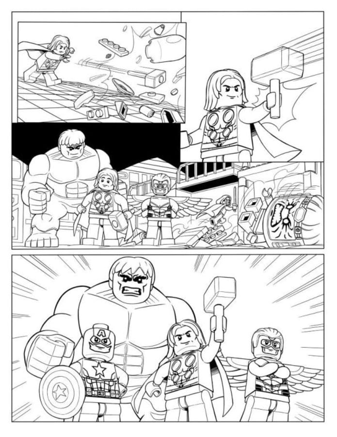 Coloring Pages Coloring Pages Lego Avengers Printable For Kids Adults Free