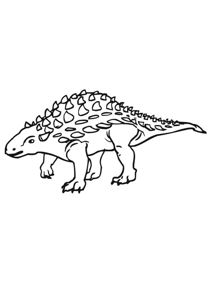 ausmalbilder: ausmalbilder: ankylosaurus zum ausdrucken