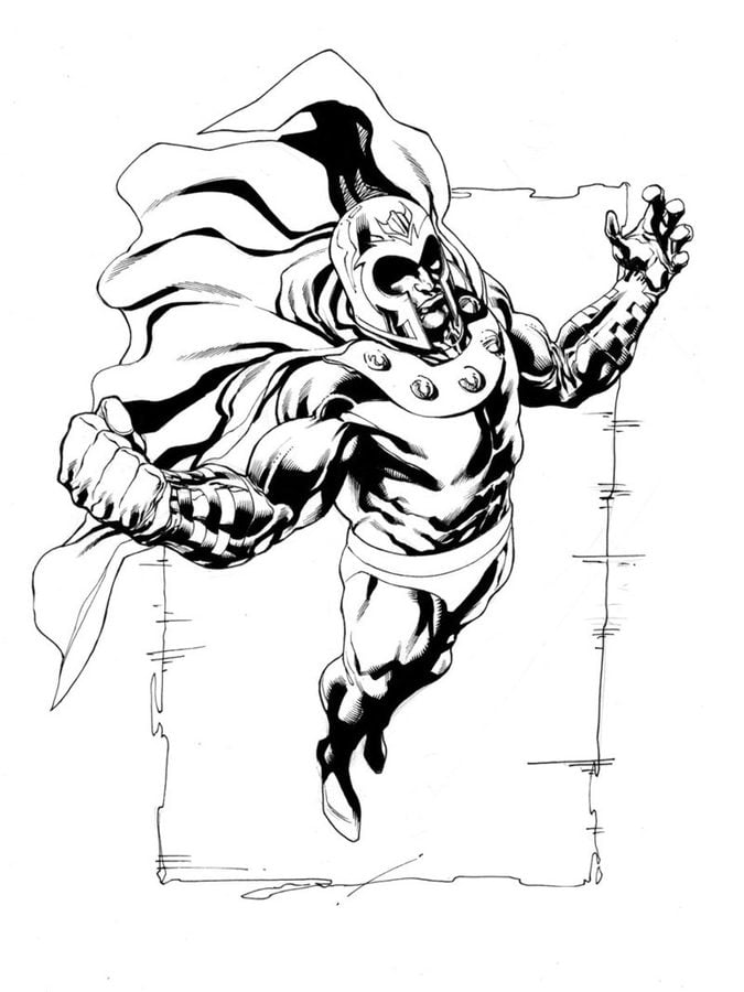 Coloring Pages Magneto Printable For Kids Amp Adults Free