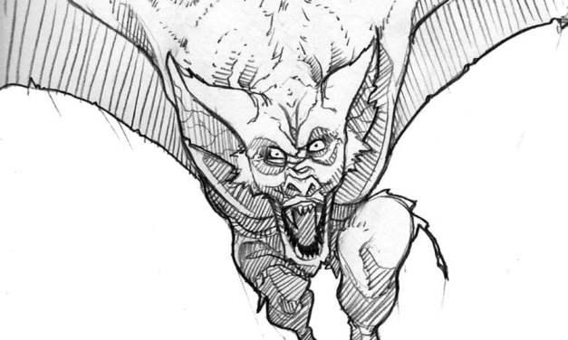 Ausmalbilder: Man-Bat
