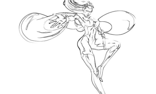 Coloring pages: Storm