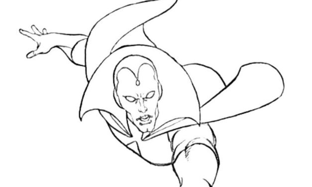 Coloring pages: Vision