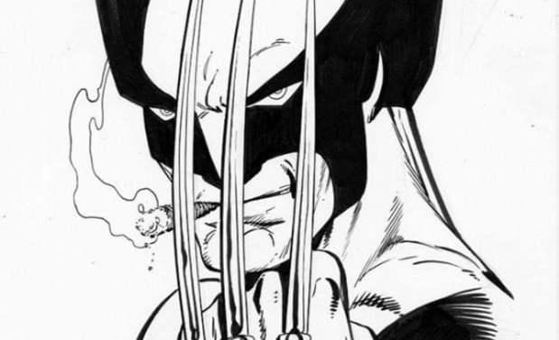 Ausmalbilder: Wolverine