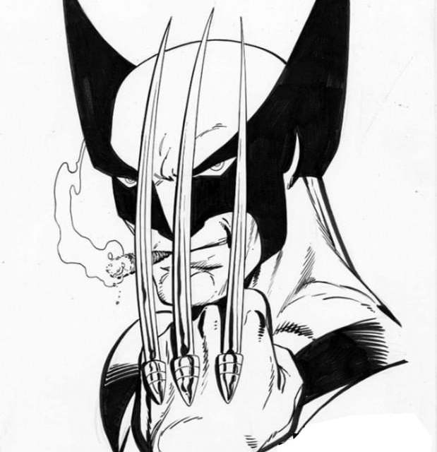Coloring Pages Coloring Pages Wolverine Printable For Kids Adults Free