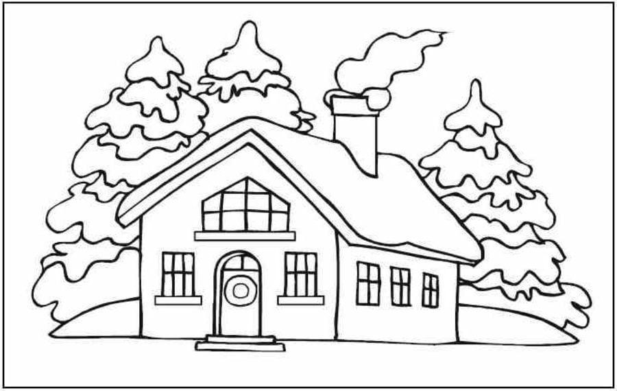 Disegni Di Natale Da Unire Con I Puntini.Disegni Da Colorare Disegni Da Colorare Casa Di Zenzero Di Natale Stampabile Gratuito Per Bambini E Adulti