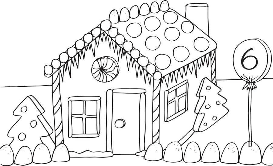 Gingerbread Christmas Colouring Pages.Coloring Pages Coloring Pages Gingerbread House Printable