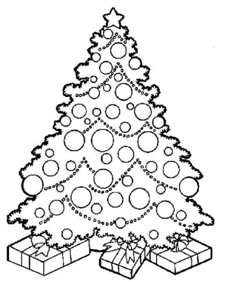 Disegni Di Natale Da Unire Con I Puntini.Disegni Da Colorare Disegni Da Colorare Alberi Di Natale Stampabile Gratuito Per Bambini E Adulti