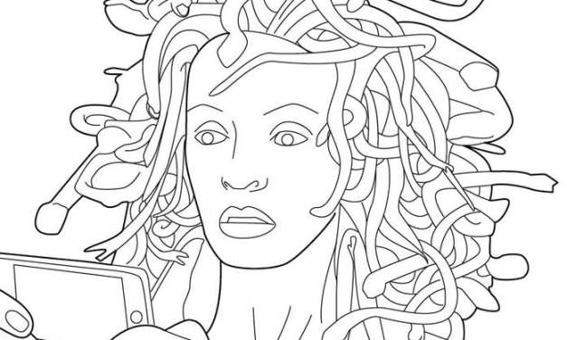 Coloring pages: Medusa