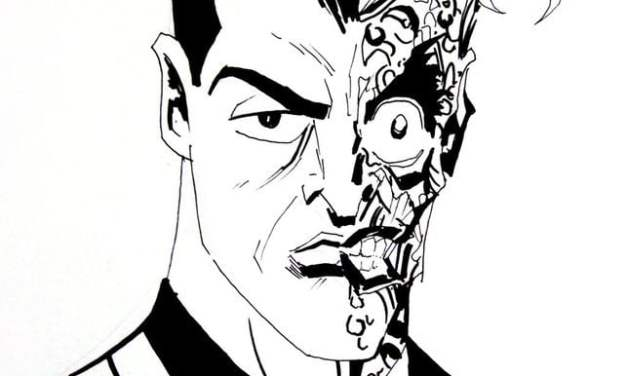 Coloring pages: Two-Face