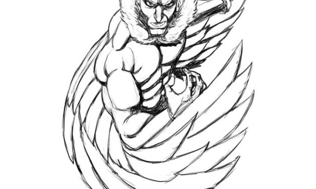 Coloring pages: Vulture