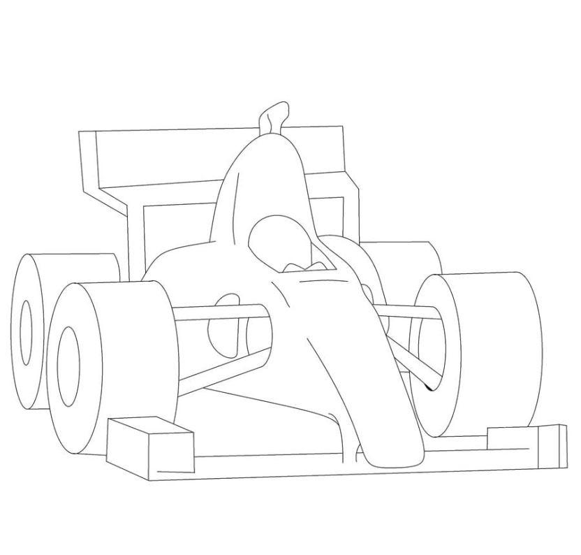 33 Ausmalbilder Formel 1 Besten Bilder Von Ausmalbilder