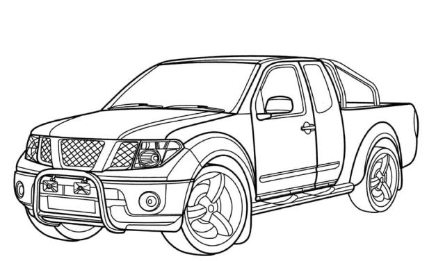 Coloring pages: Nissan