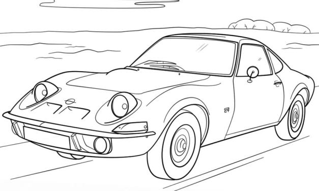 Coloring pages: Opel