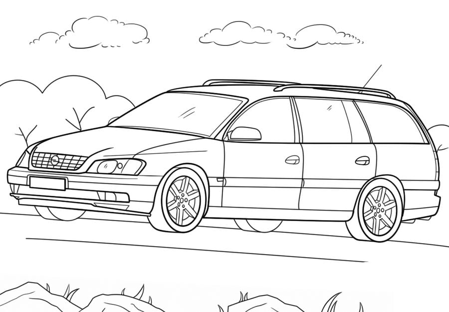 Ausmalbilder: Ausmalbilder: Opel zum ausdrucken, kostenlos ...