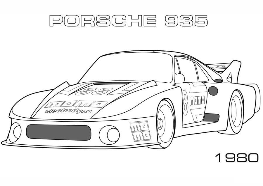 Kolorowanki Kolorowanki Porsche Do Druku Dla Dzieci I Dorosłych