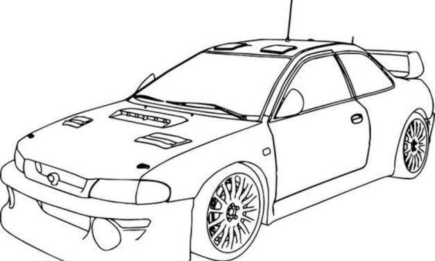 Coloring pages: Subaru