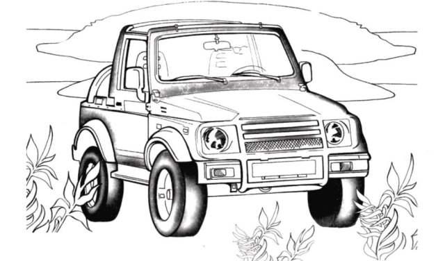 Ausmalbilder: Suzuki