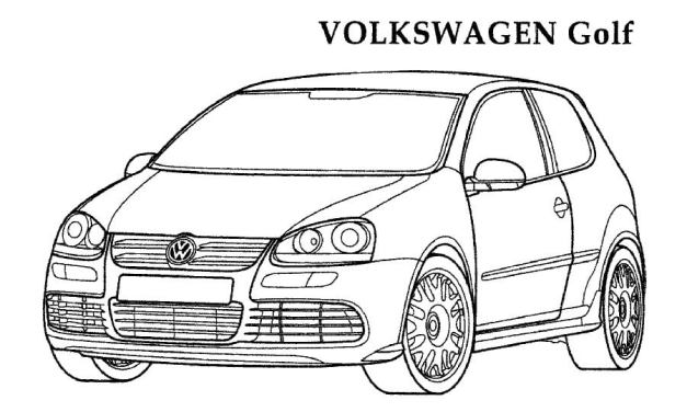 Ausmalbilder: Volkswagen