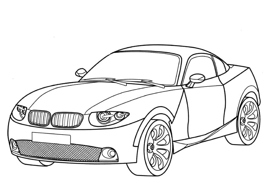 Coloring Pages Coloring Pages Bmw Printable For Kids Adults Free