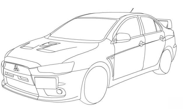 Coloring pages: Racing cars
