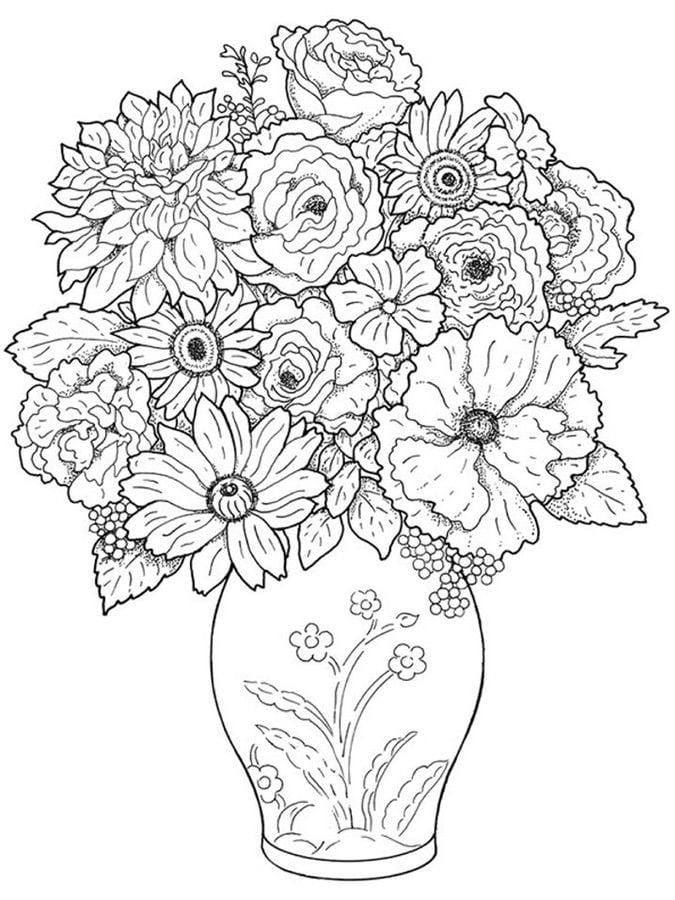 Dibujos para colorear: Gerbera imprimible, gratis, para ...