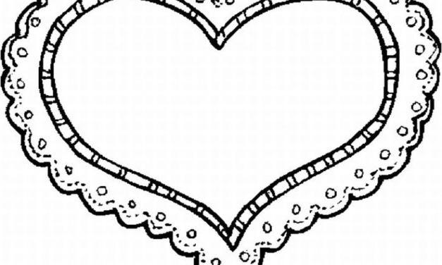 Ausmalbilder: Herz