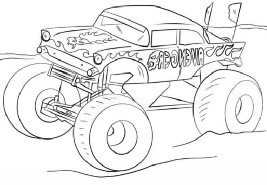 Ausmalbilder Ausmalbilder Geländewagen Zum Ausdrucken Kostenlos