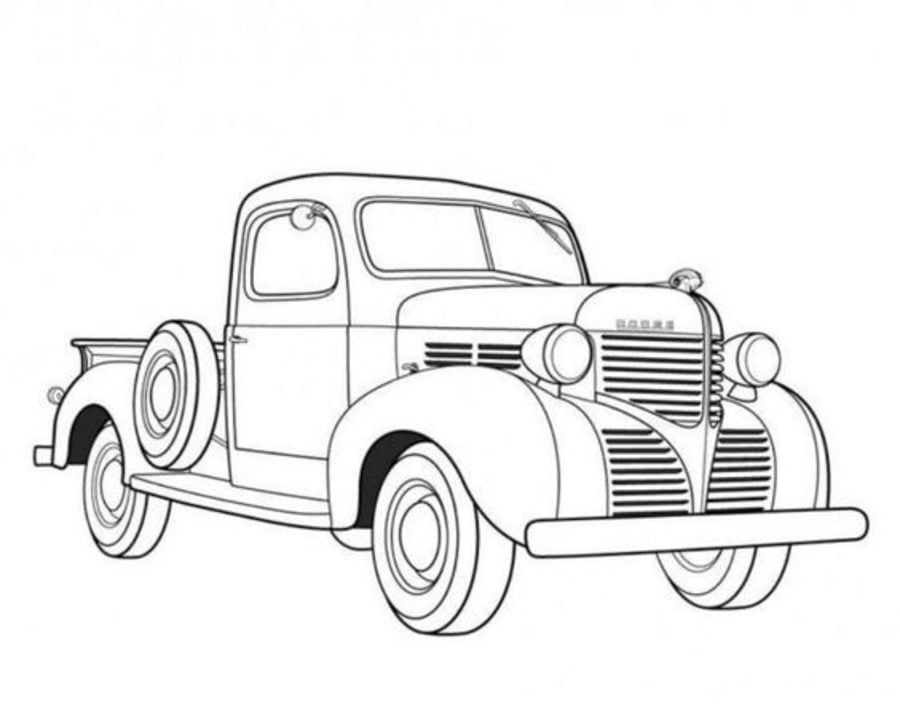 Coloring Pages Coloring Pages Antique Car Printable For Kids Adults Free