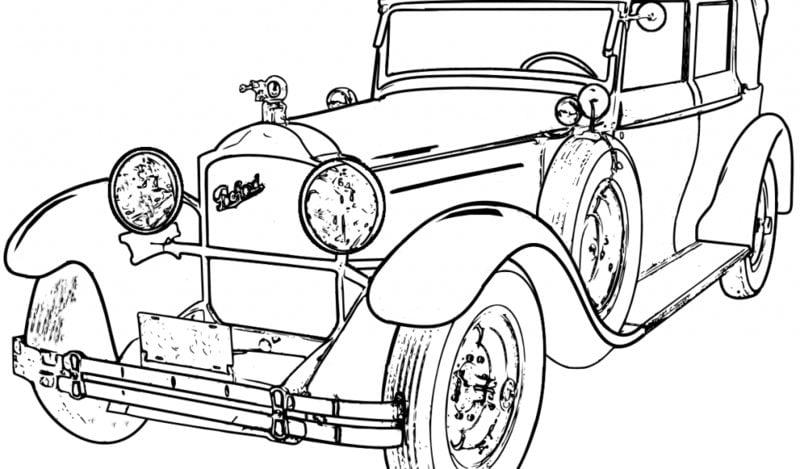 ausmalbilder für erwachsene automobil zum ausdrucken