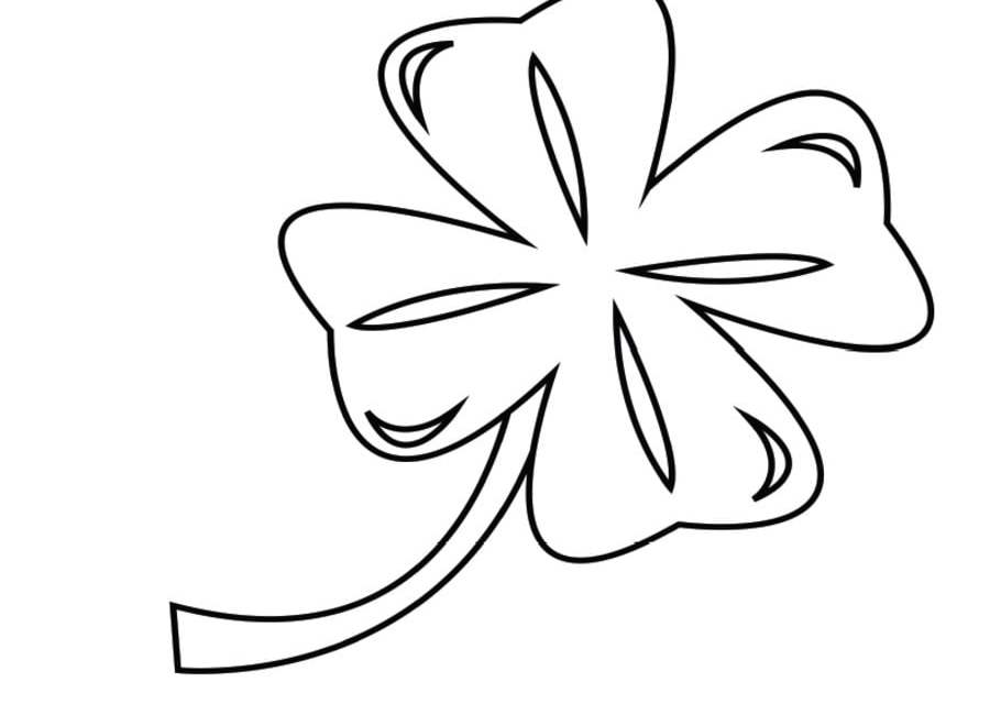 Coloring pages: Shamrock