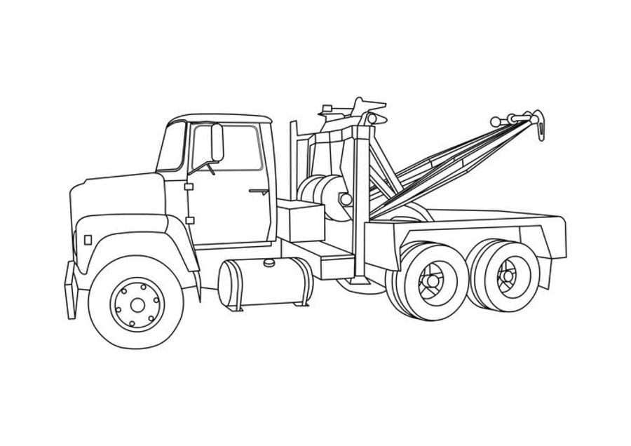 Coloring Pages Coloring Pages Tow Truck Printable For Kids Adults Free