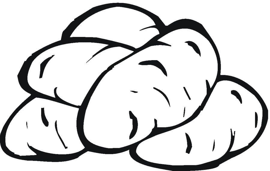 ausmalbilder ausmalbilder kartoffeln zum ausdrucken
