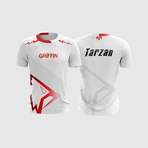 Áo thi đấu Liên Minh Huyền Thoại Team Griffin 2018 White