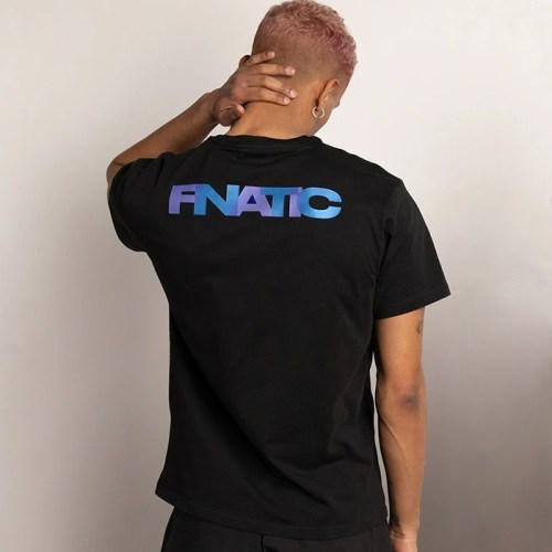 Ao thun ngan tay Fnatic IP Collection V2 Black 2