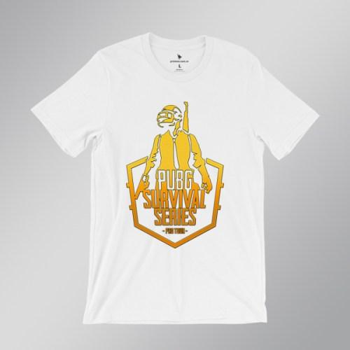 Áo thun Pubg survival series - áo trắng