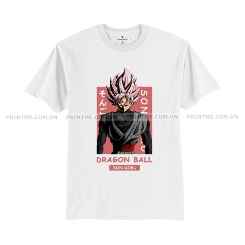 Áo Thun Black Son Goku