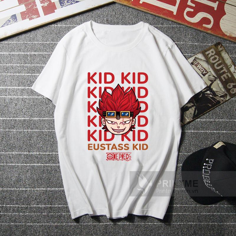 Áo Thun Kid - One Piece - áo trắng