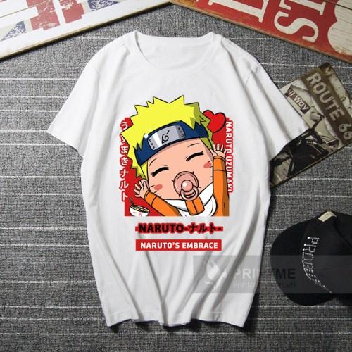 Áo Thun Naruto Chibi - áo trắng