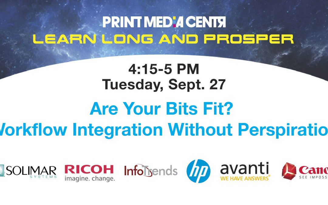 [VIDEO] Are Your Bits Fit? Workflow Integration Without Perspiration