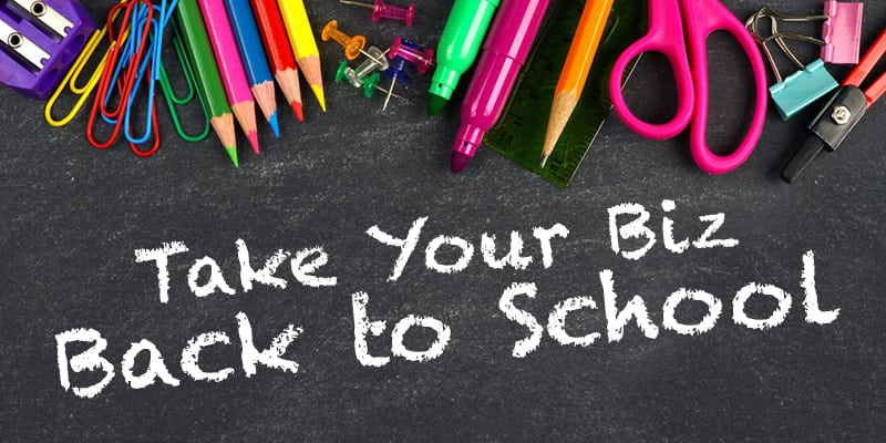 Back to School Can Be a Fresh Start for You, TOO!