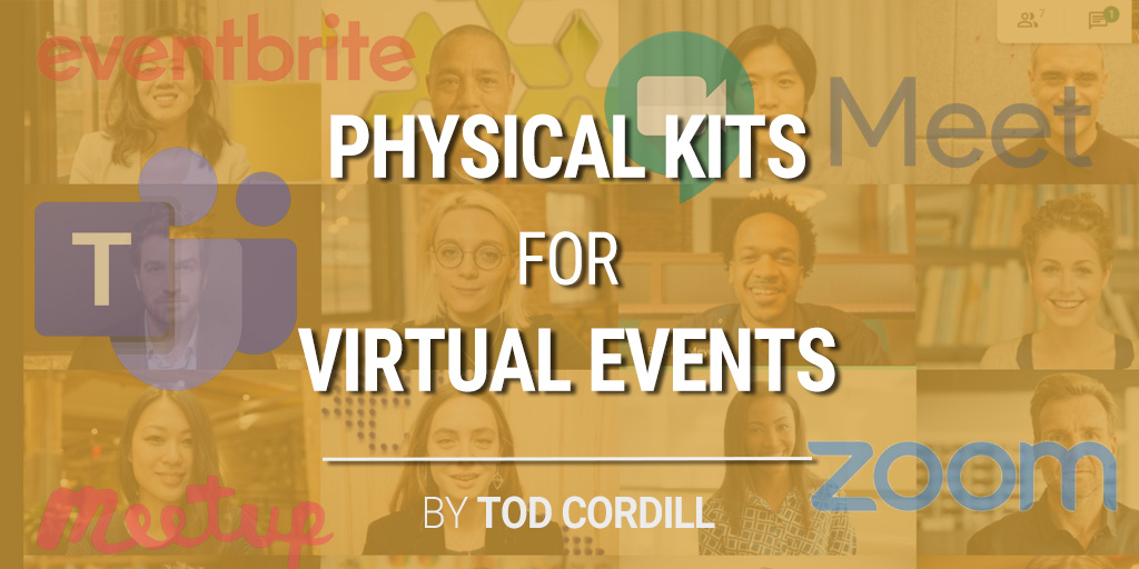 Solution Selling for Online Conferences: Physical Kits for Virtual Events