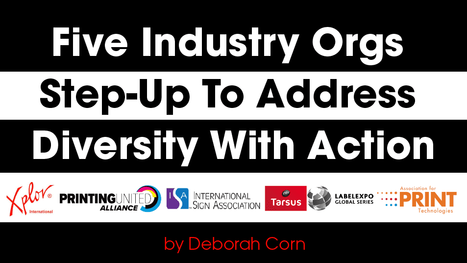Five Industry Orgs Step-Up To Address Diversity With Action