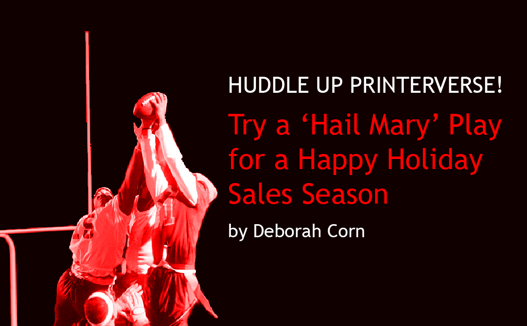 Try a 'Hail Mary' Play for a Happy Holiday Sales Season