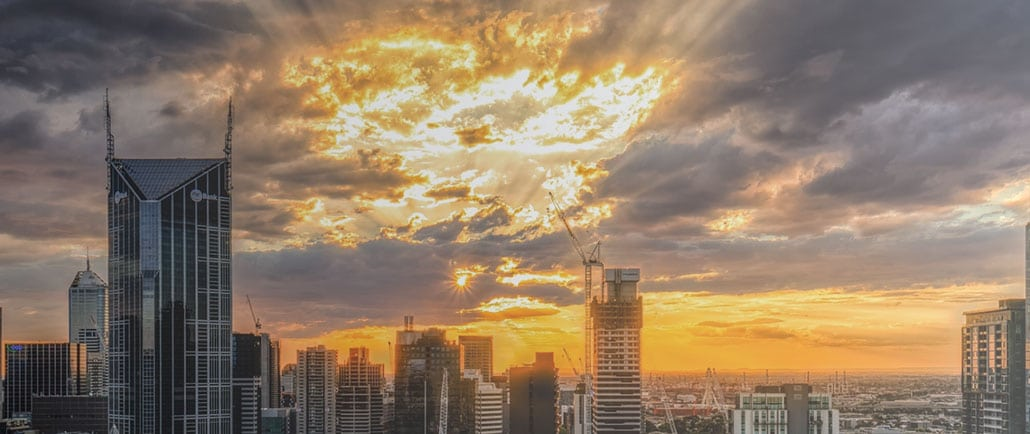 Sunset City Banner Image