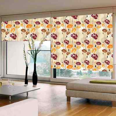 Custom Window Blinds Arts Painting