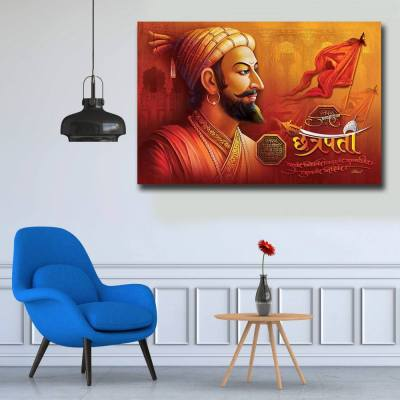 Shivaji Maharaj Wall Art Painting