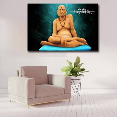 Swami Samarth Wall Painting